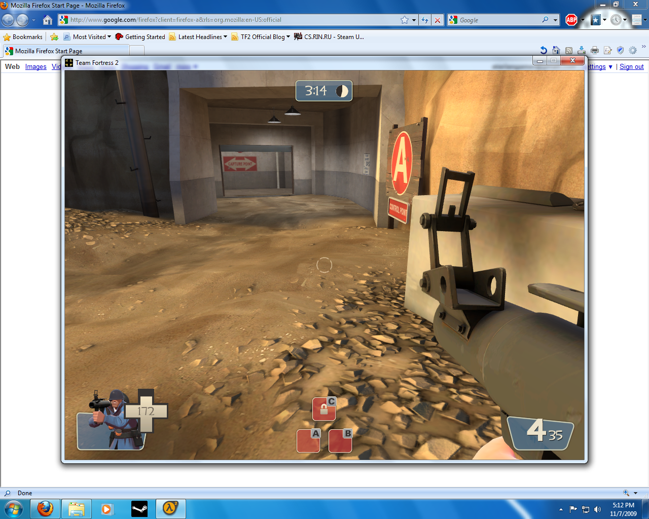 Chex Quest Fan Forums - TF2 Beta? in MY Windows 7?
