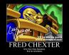 Fred Chexter volunteers